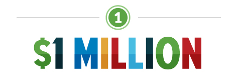 Goal 1: $1 million