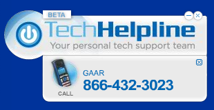 Click here to install Tech Helpline widget