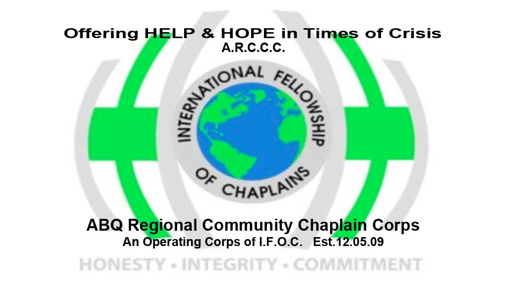 logo for Albuquerque Regional Community Chaplain Corps