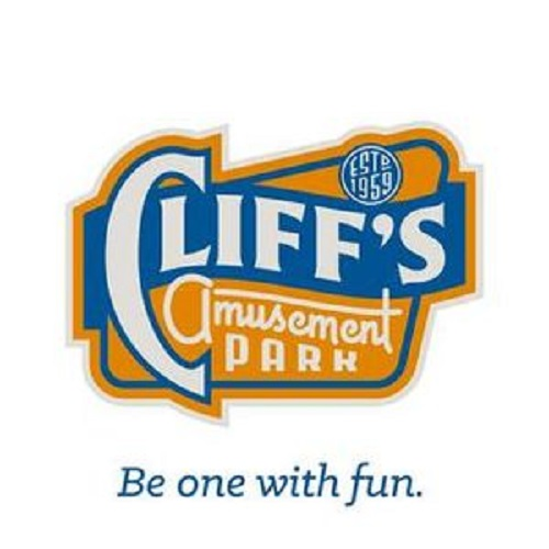 Cliffs Amusement Park logo