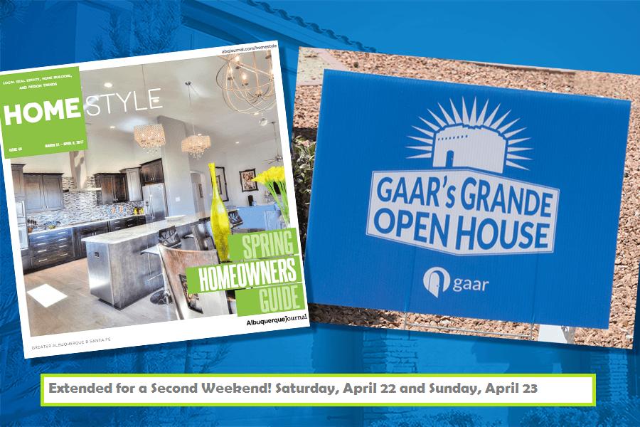 Get Ready for the GAAR Grande Open House Weekend!