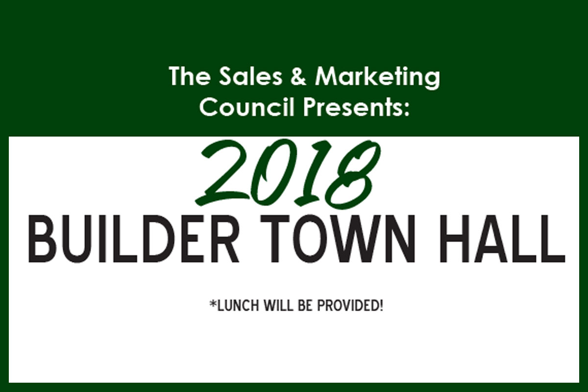 2018 Home Builders Town Hall