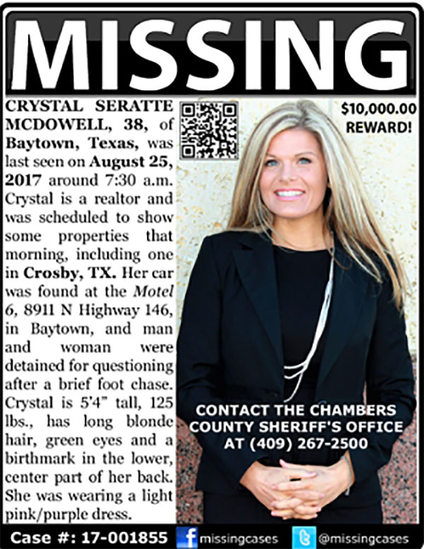 Houston Agent Missing After Fleeing Harvey