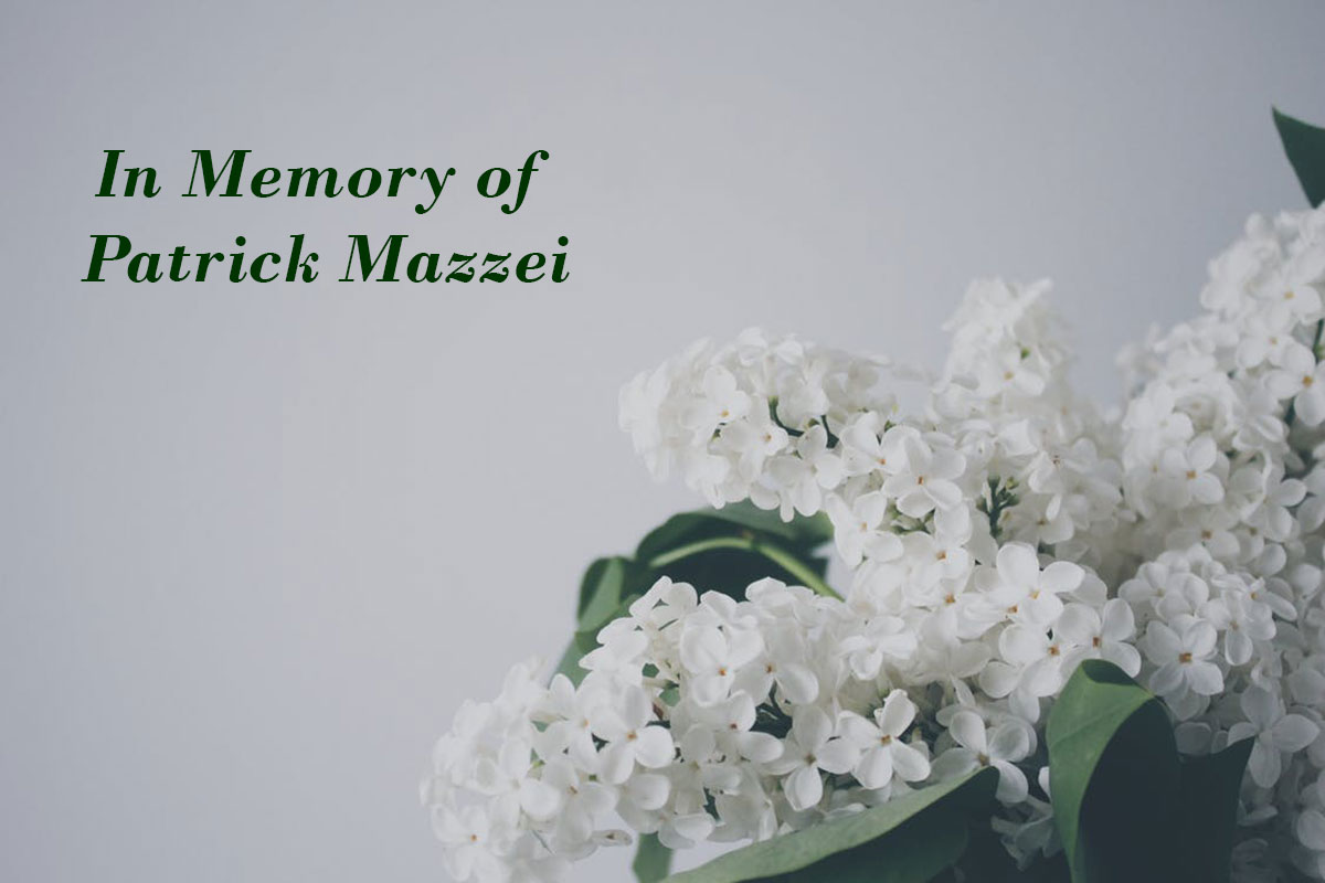 In Memory of Patrick Mazzei