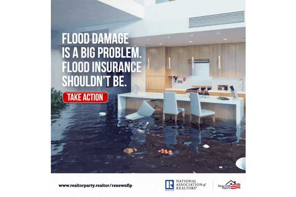 REALTORS®: Take 30 secs to tell Congress to renew the National Flood Insurance Program!