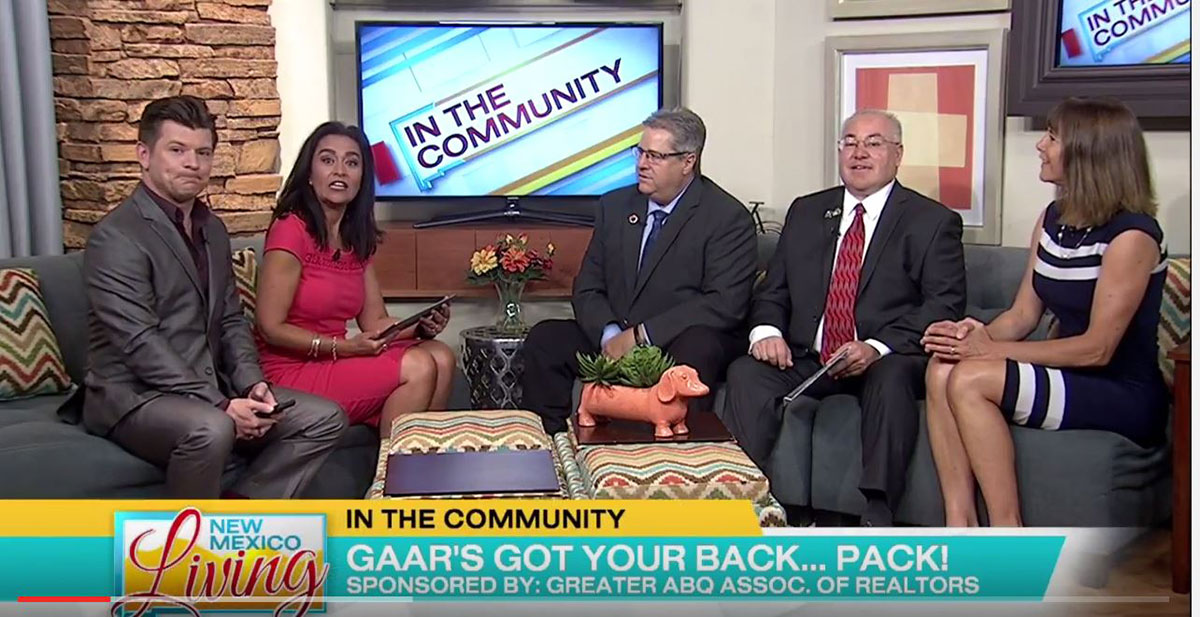 In the Community: GAAR's We've got your back…pack! Drive and the REALTOR® Fund