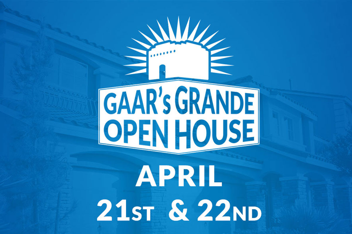 GAAR Grande Open House Weekend: Today's Deadline and Checklist!