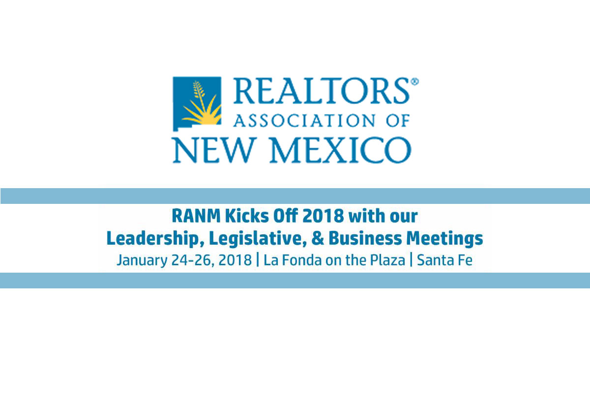 RANM January 2018 Leadership, Legislative & Business Meetings