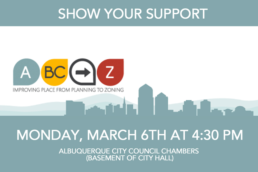 Urgent Action Requested – Support ABQ's Comprehensive Plan