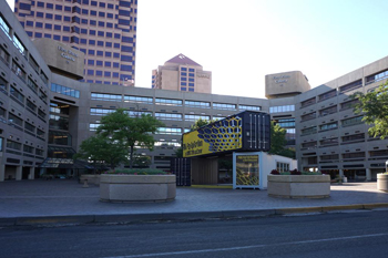 Albuquerque firm modifies shipping containers for homes, offices and underground bunkers