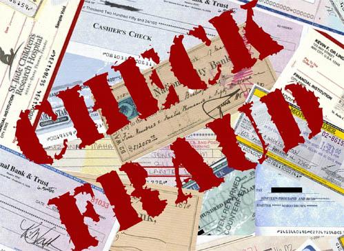 Safety Alert: Check Fraud Scheme