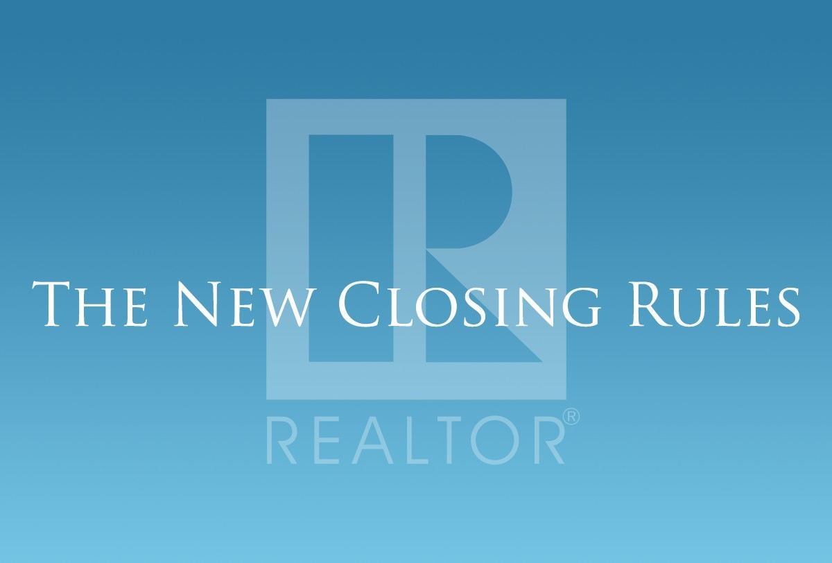 Recorded Webcast: The New Closing Rules