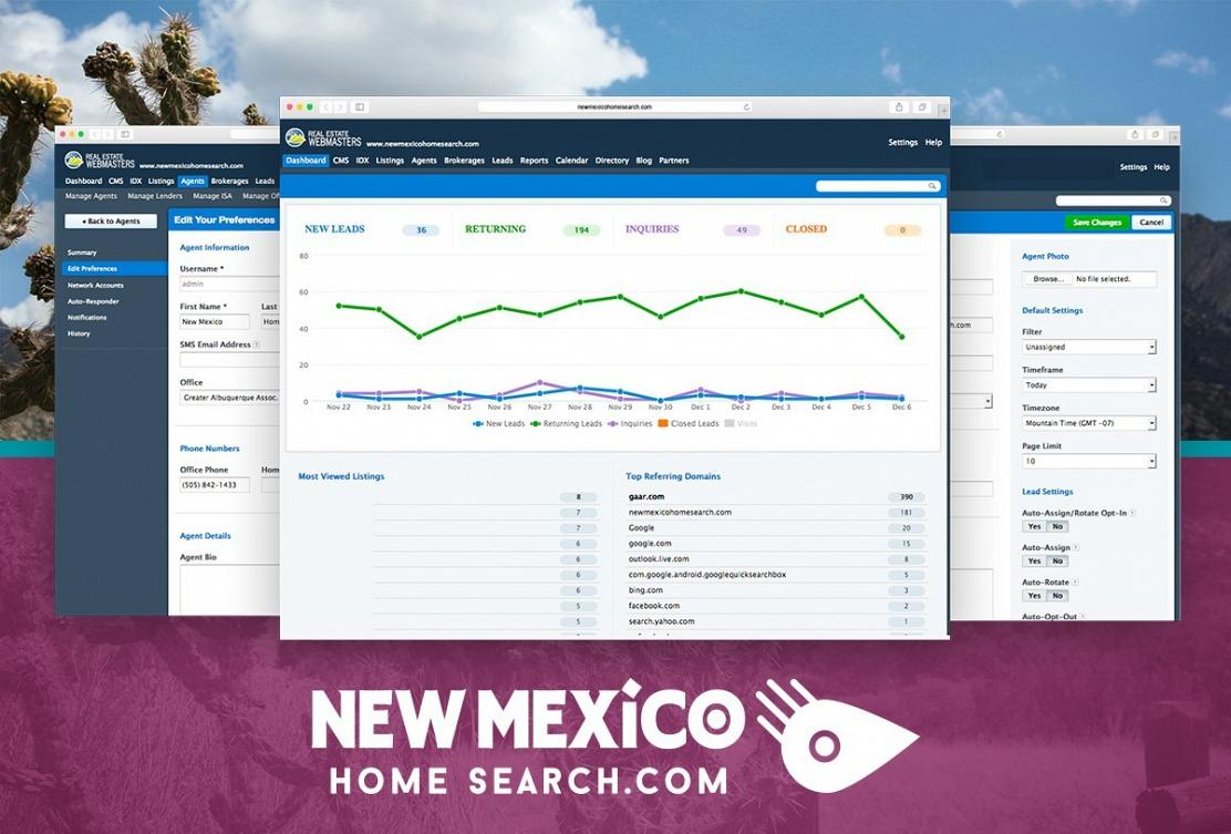 Updating your profile in NewMexicoHomeSearch.com
