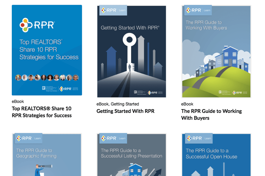 Expand your RPR marketing knowledge at your own pace with eBooks