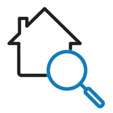 Searching logo