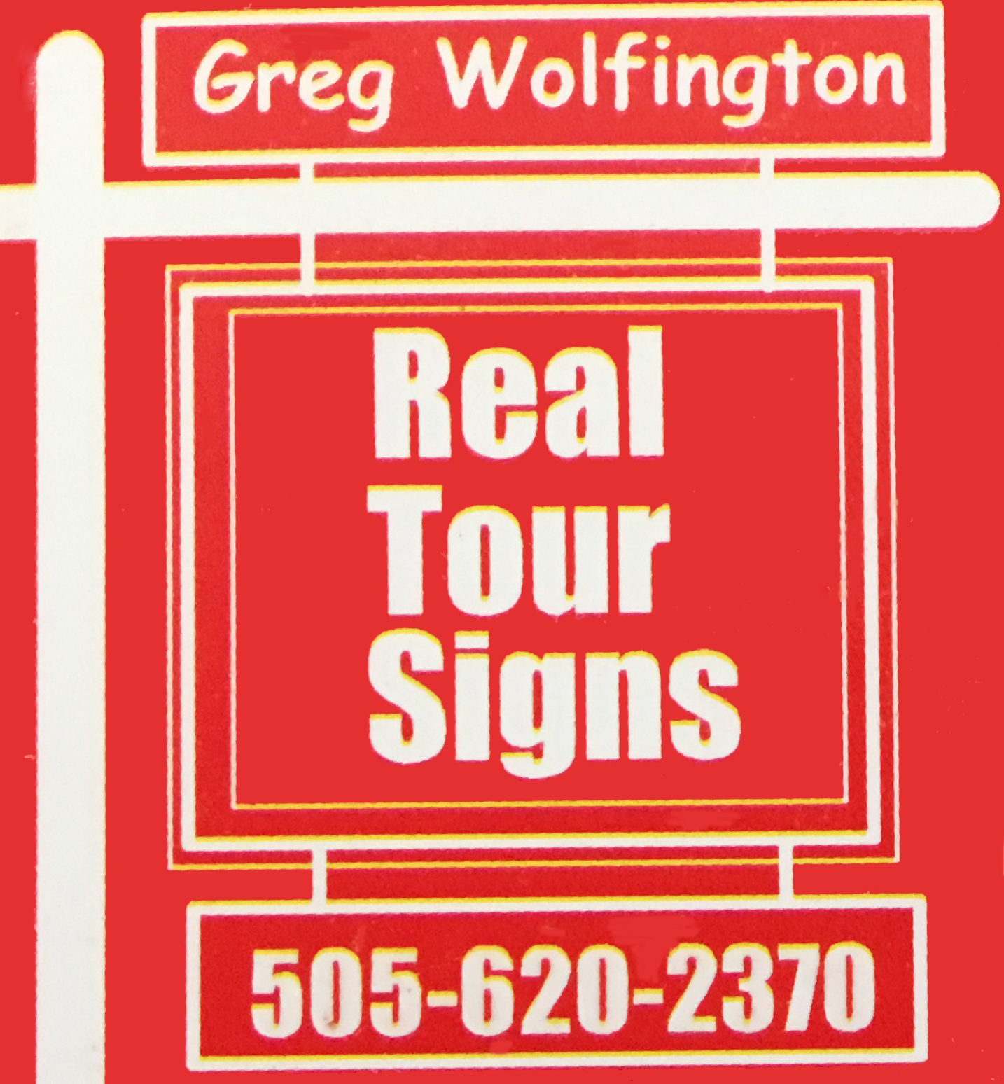 ABQ Real Tours Signs logo