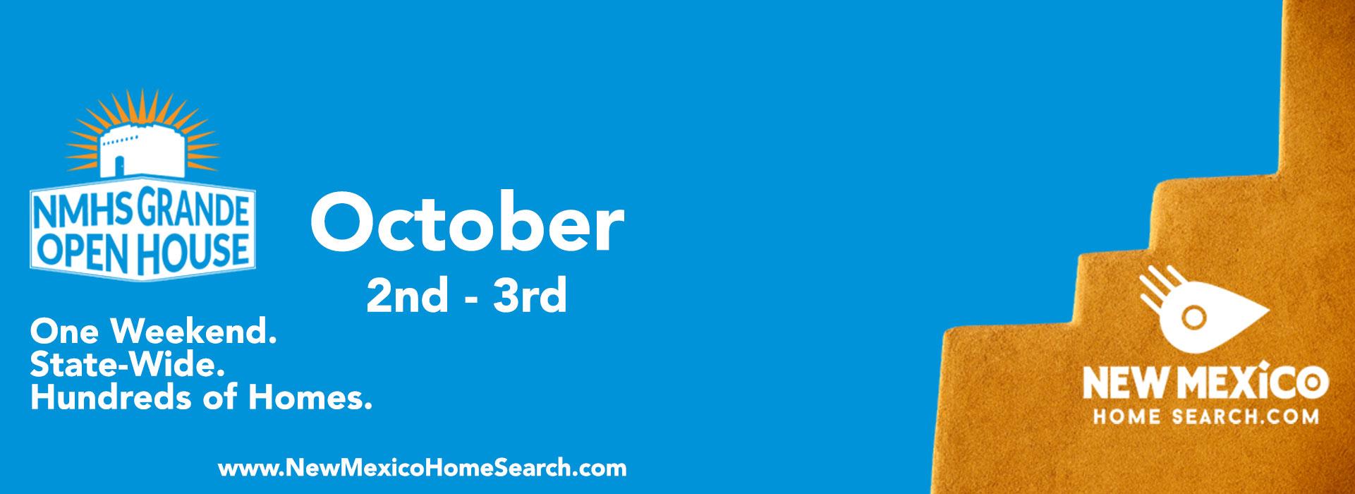 Grande Open House Weekend is October 2nd & 3rd