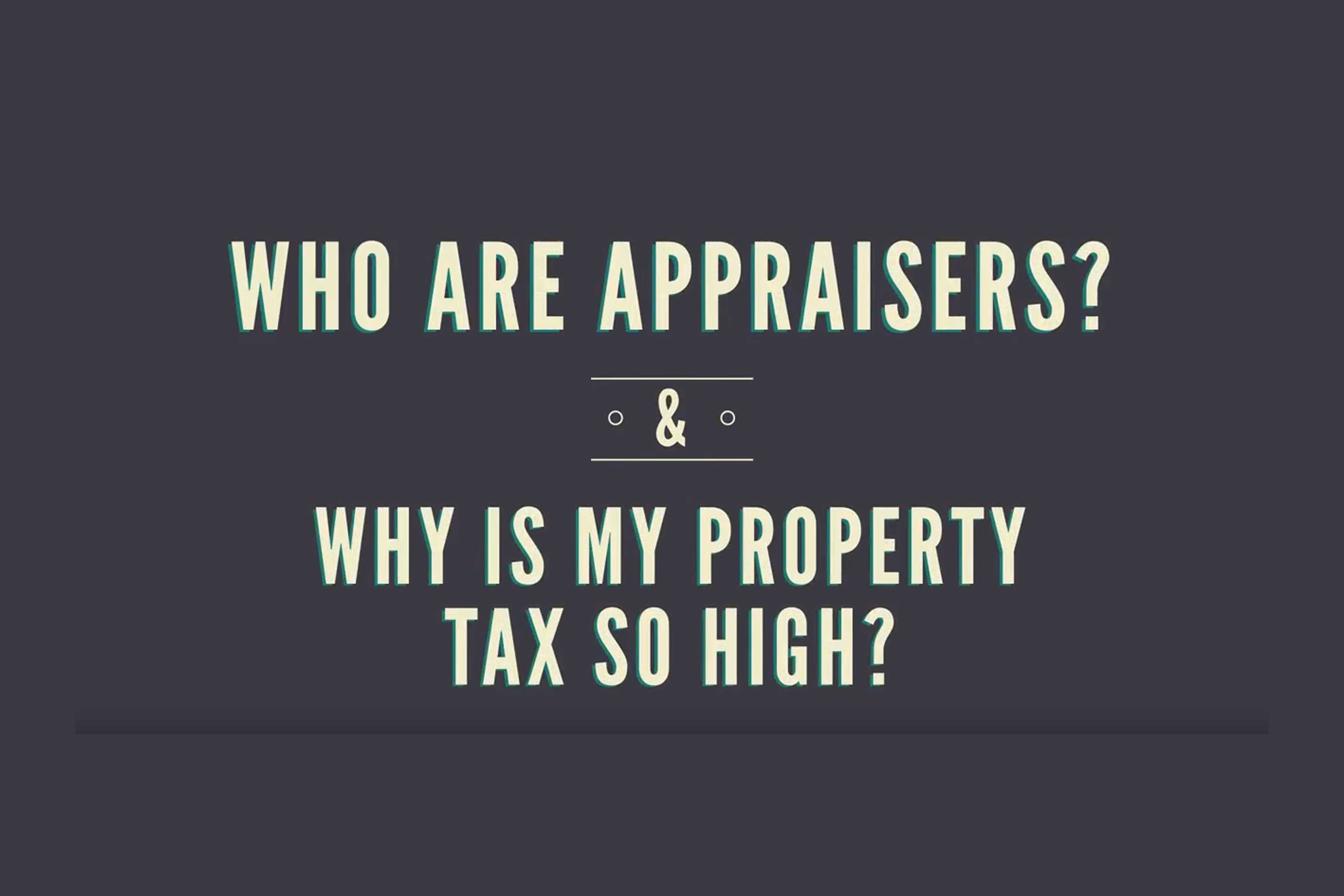BernCo Video: Role of the Tax Appraiser