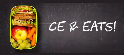 CE & Eats: Earn up to 12 CE's for $75
