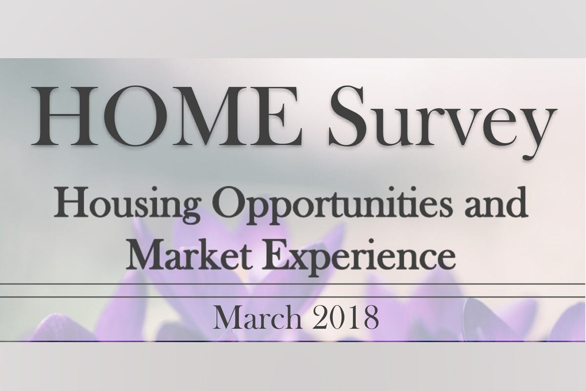 2018 Q1 Homeownership Opportunities and Market Experience (HOME) Survey