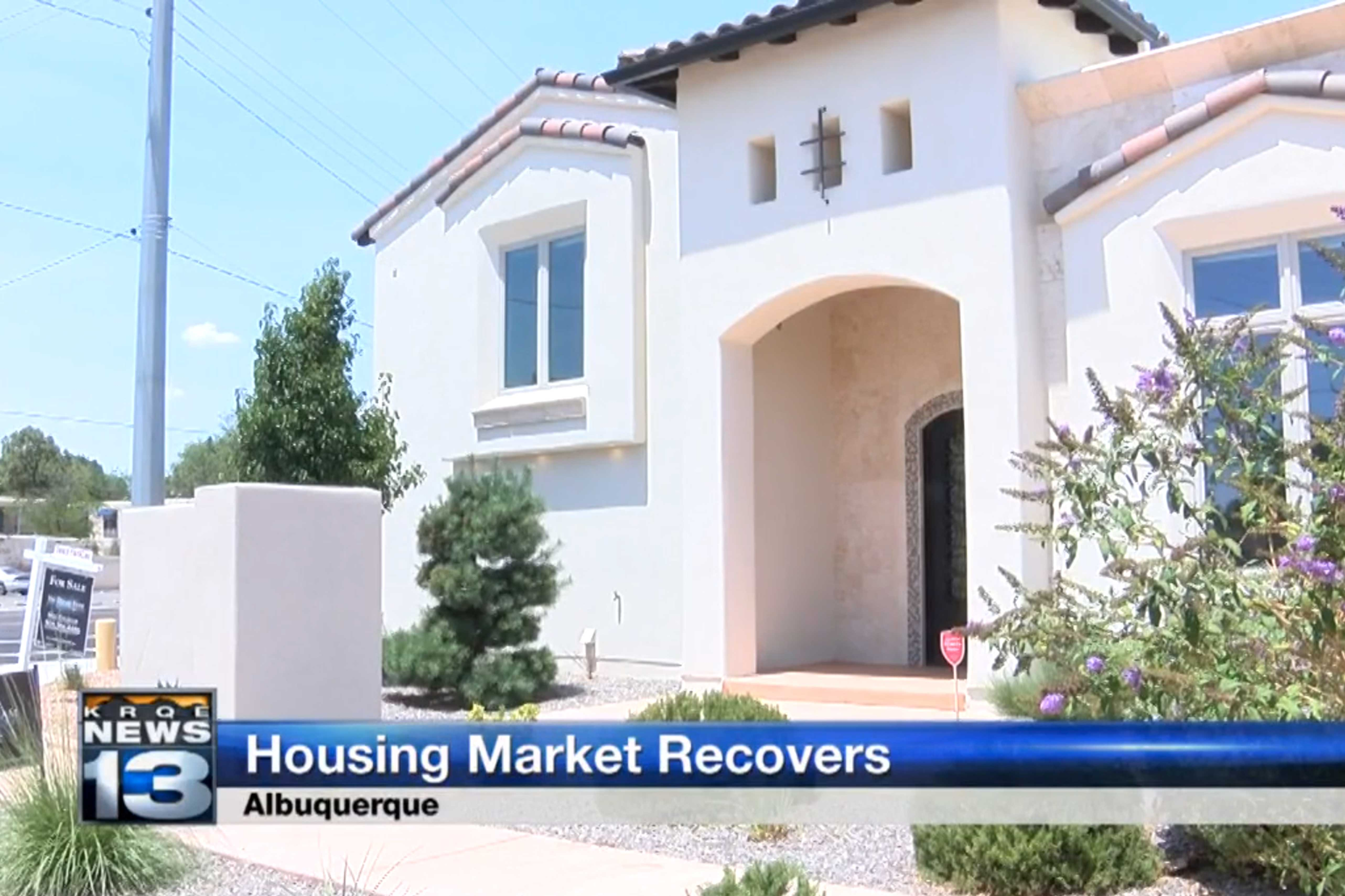 KRQE News: Albuquerque Housing Market on the Rise