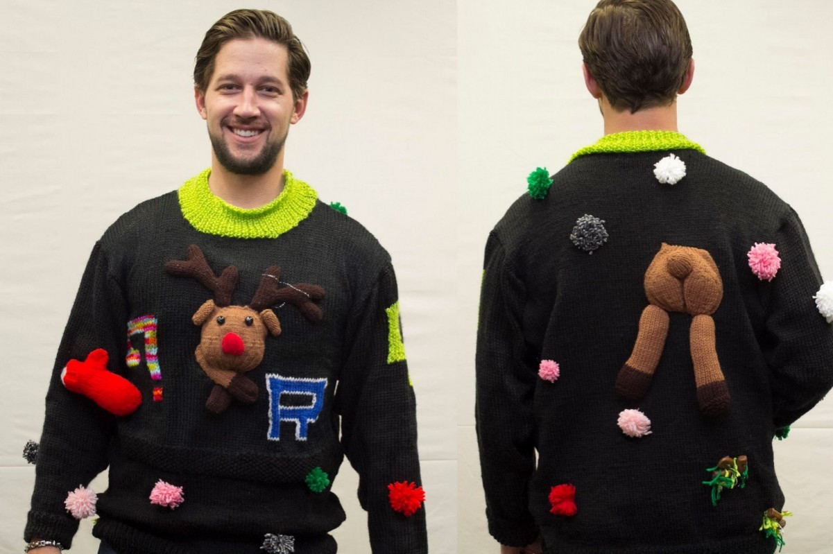 The ugly sweater makes the rounds at GAAR and the Affiliate After Hour Mixer