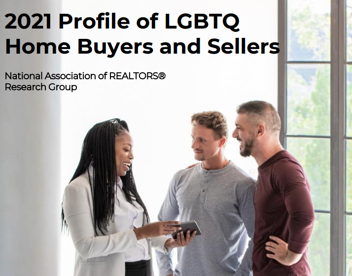 NAR Report: LGBTQ Buyers Purchasing Older, Smaller Homes Than Other Americans