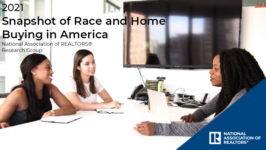 NAR: 2021 Snapshot of Race & Home Buying in America
