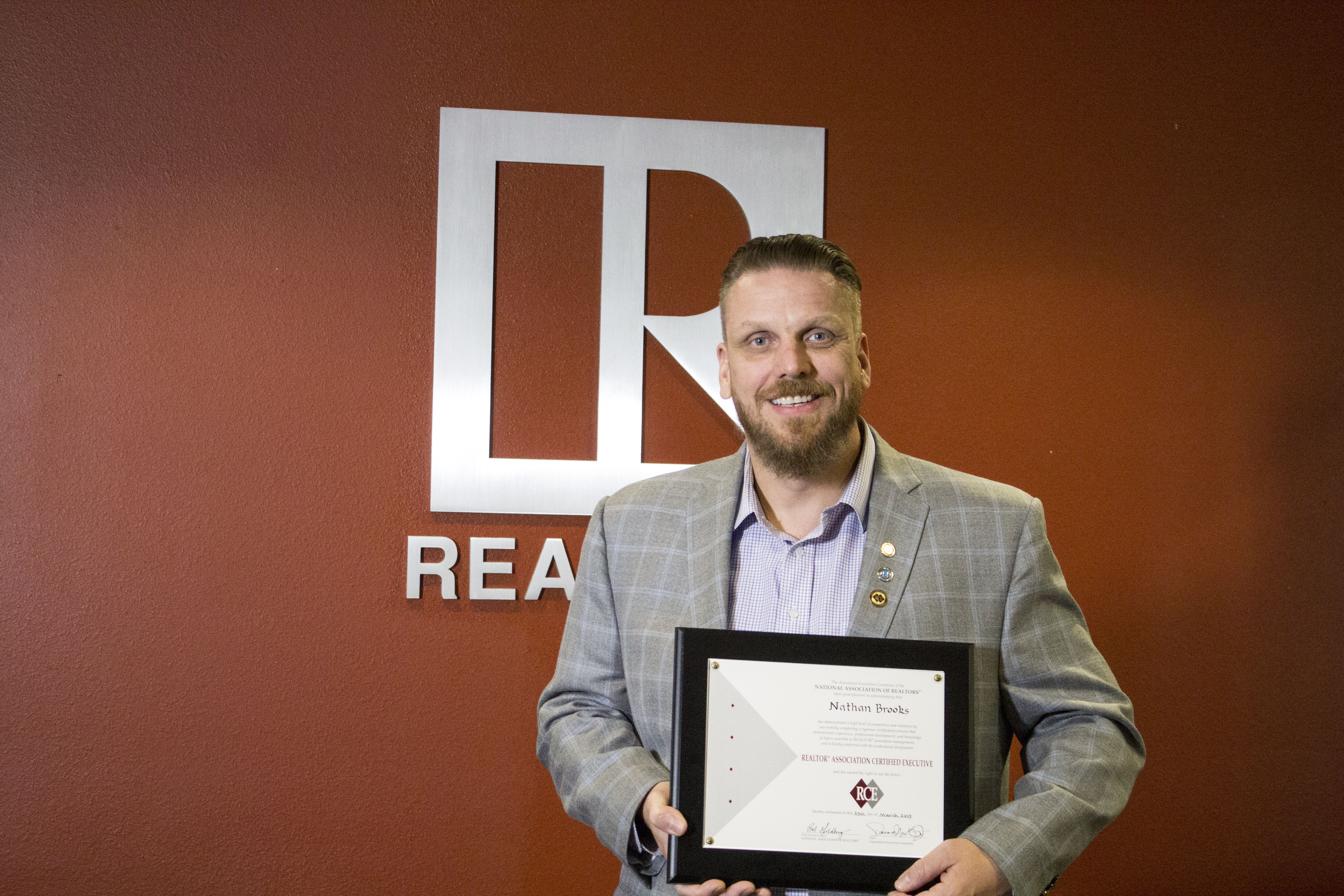 Nathan Brooks receives RCE Designation from NAR