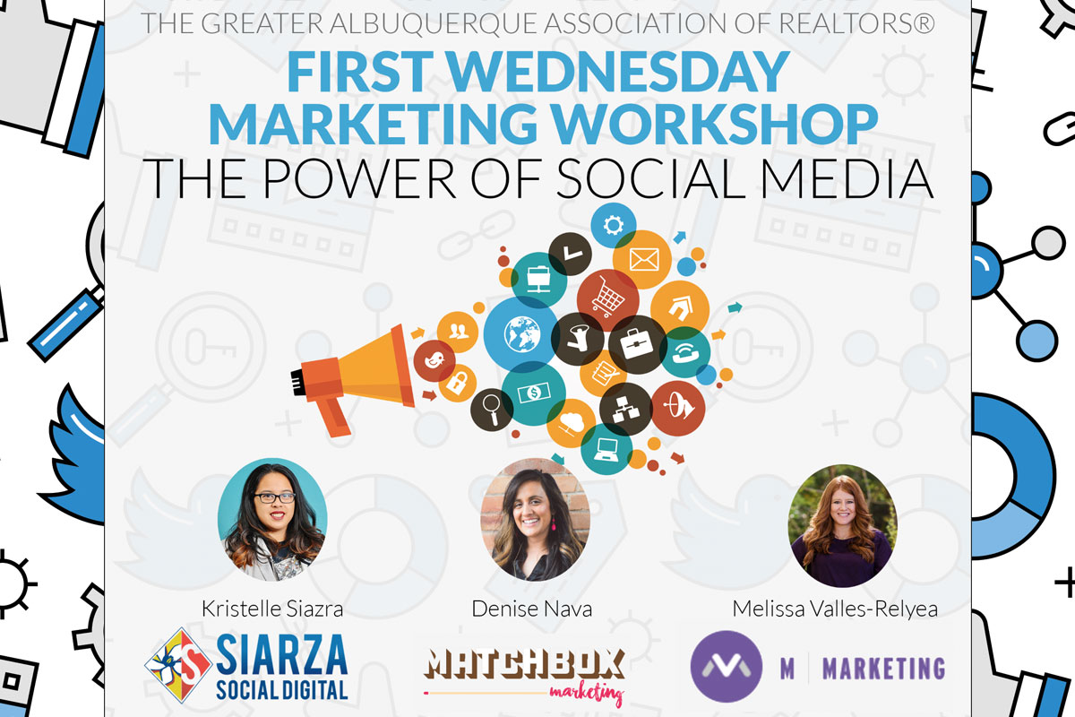 First Wednesday: The Power of Social Media Live Stream