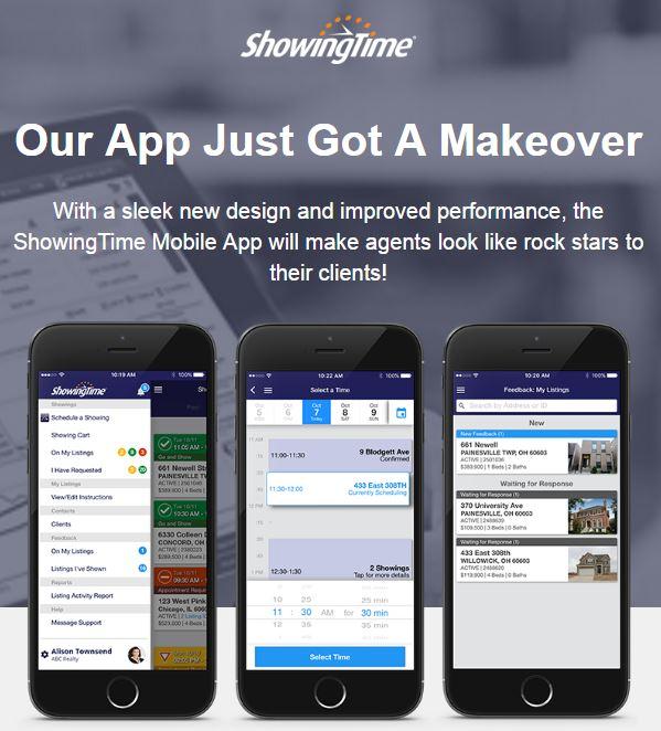 'Offline' Mode for ShowingTime App