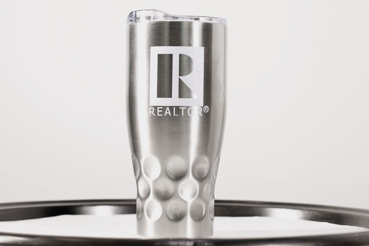 Invest $20 & receive a REALTOR® Stainless Steel Tumbler