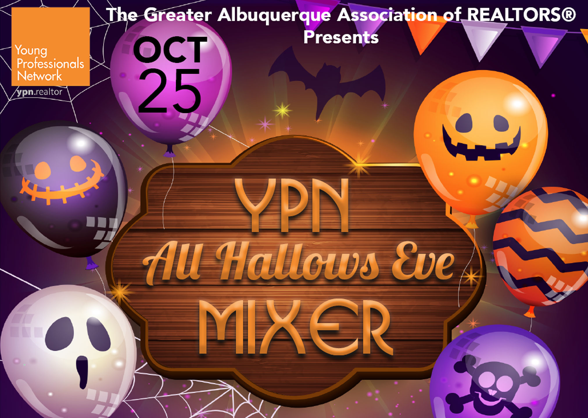 Young Professionals Mixer on October 25th