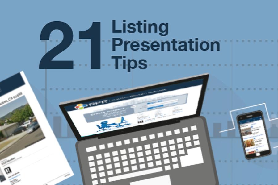 21 Steps to a Stellar Listing Presentation
