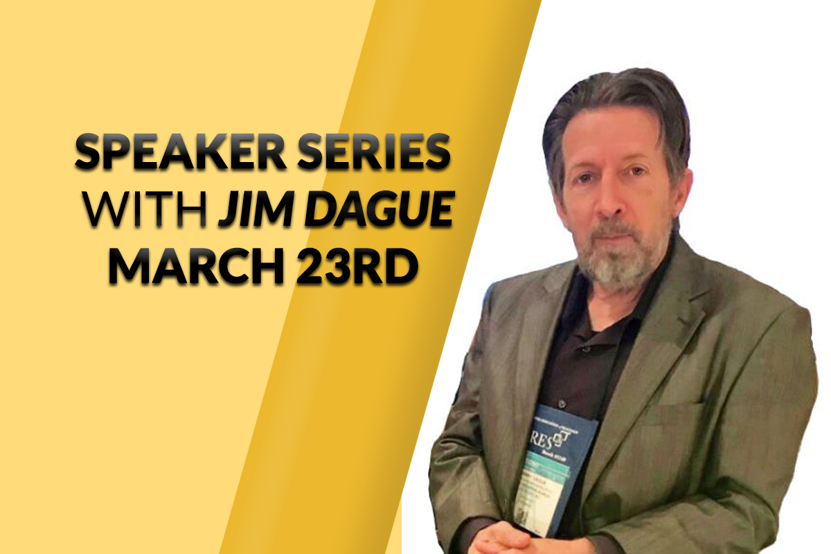 LIVE STREAM: Speaker Series on Tuesday, March 23rd