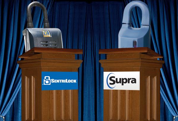 Lockbox Discussion: Supra vs. SentriLock