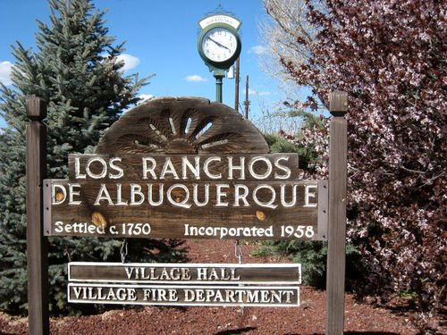 Real estate signs and sales permits for Los Ranchos and Corrales