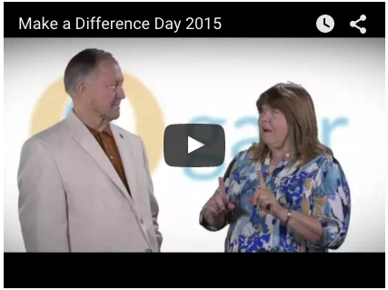 Make A Difference Day recap video with Paul Wilson and Rachel Donovan