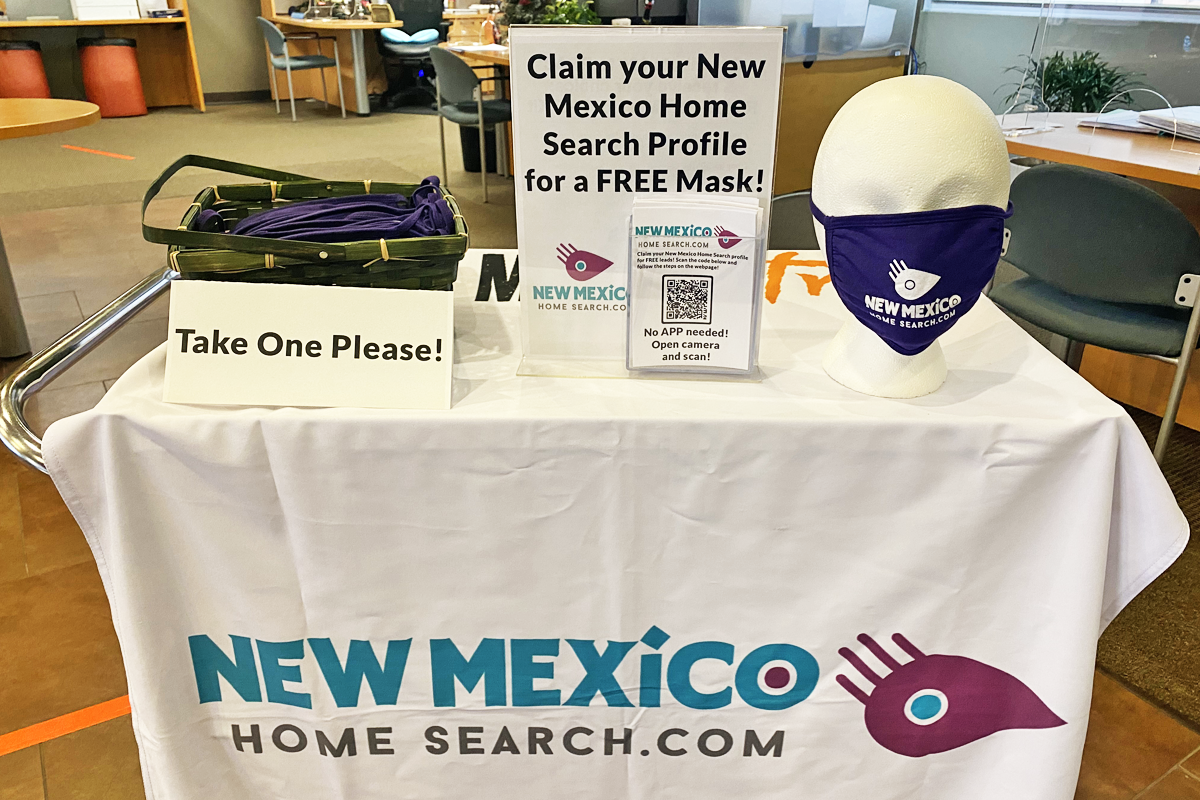 Get a FREE Mask: Claim Your New Mexico Home Search Profile