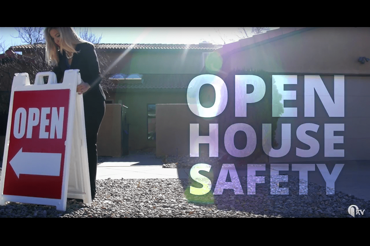 Tips for holding a safe and productive open house