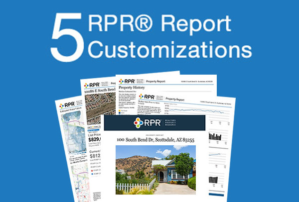 5 RPR report customizations you may not be using