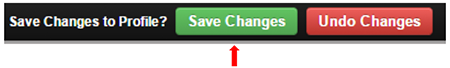 ShowingTime: Save changes to profile