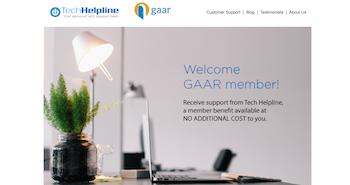 Tech Helpline offers GAAR Members Unlimited FREE Live Tech Support