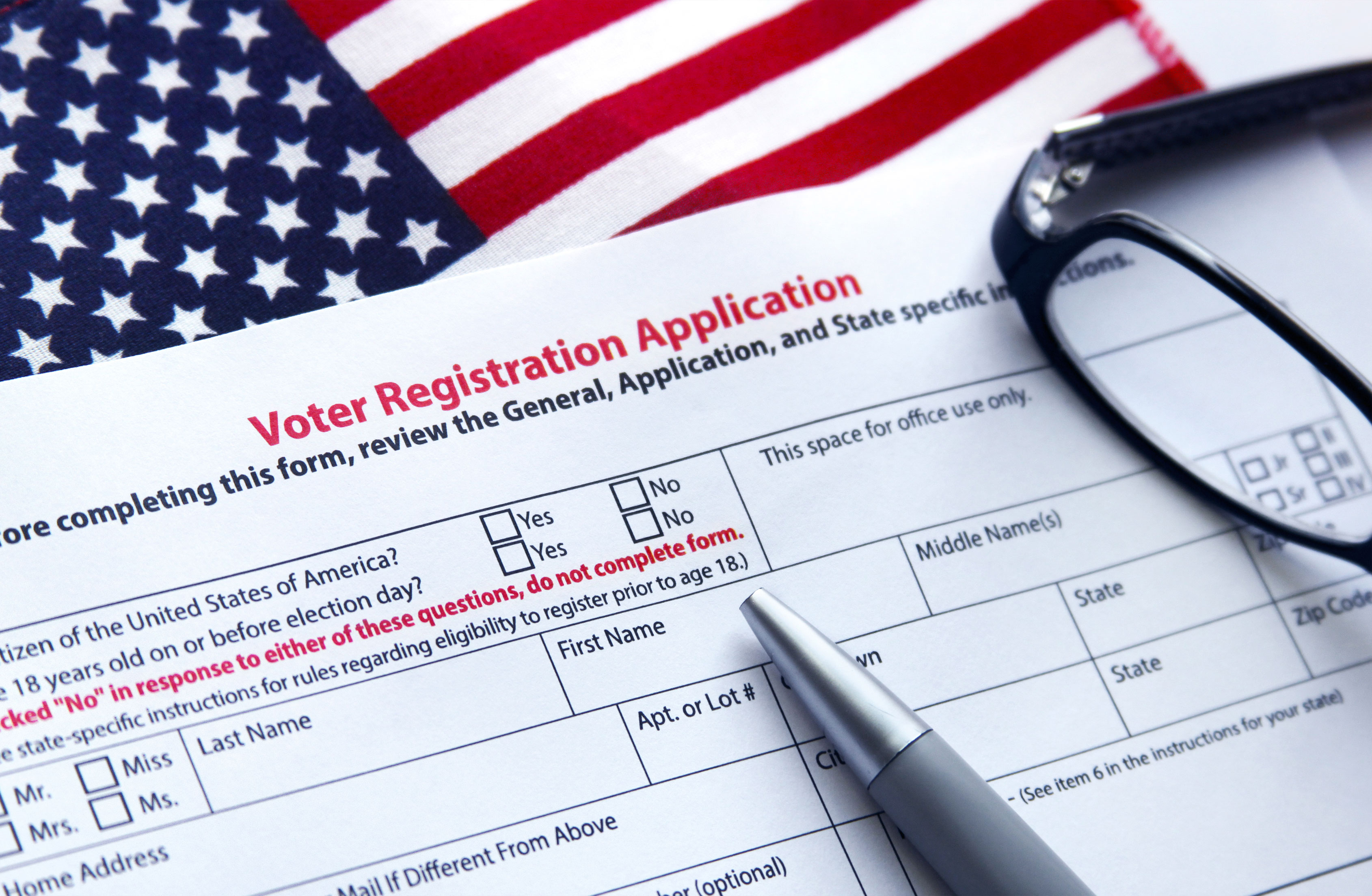 Register to Vote on Friday, July 19th at GAAR