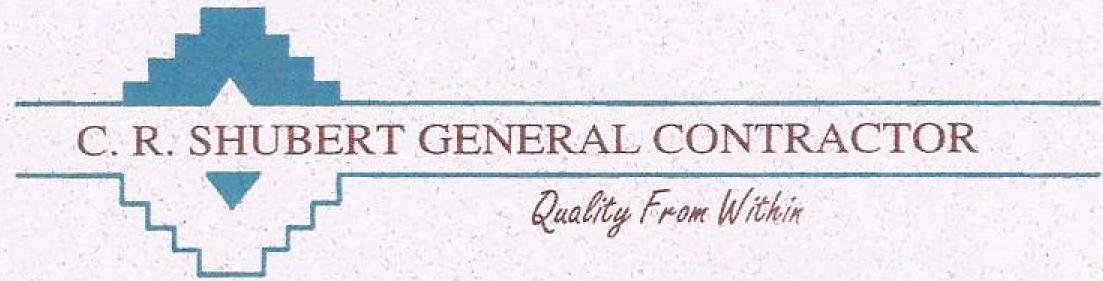 CR Shubert -General Contractors logo