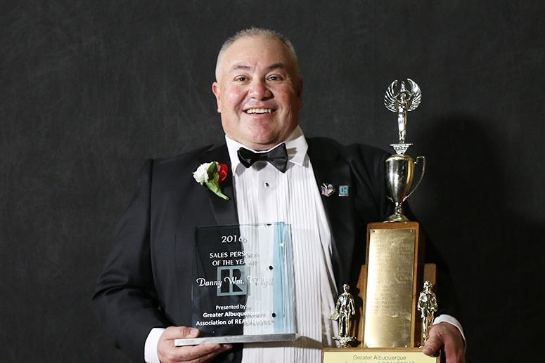 Danny Wm. Vigil, Salesperson of the Year
