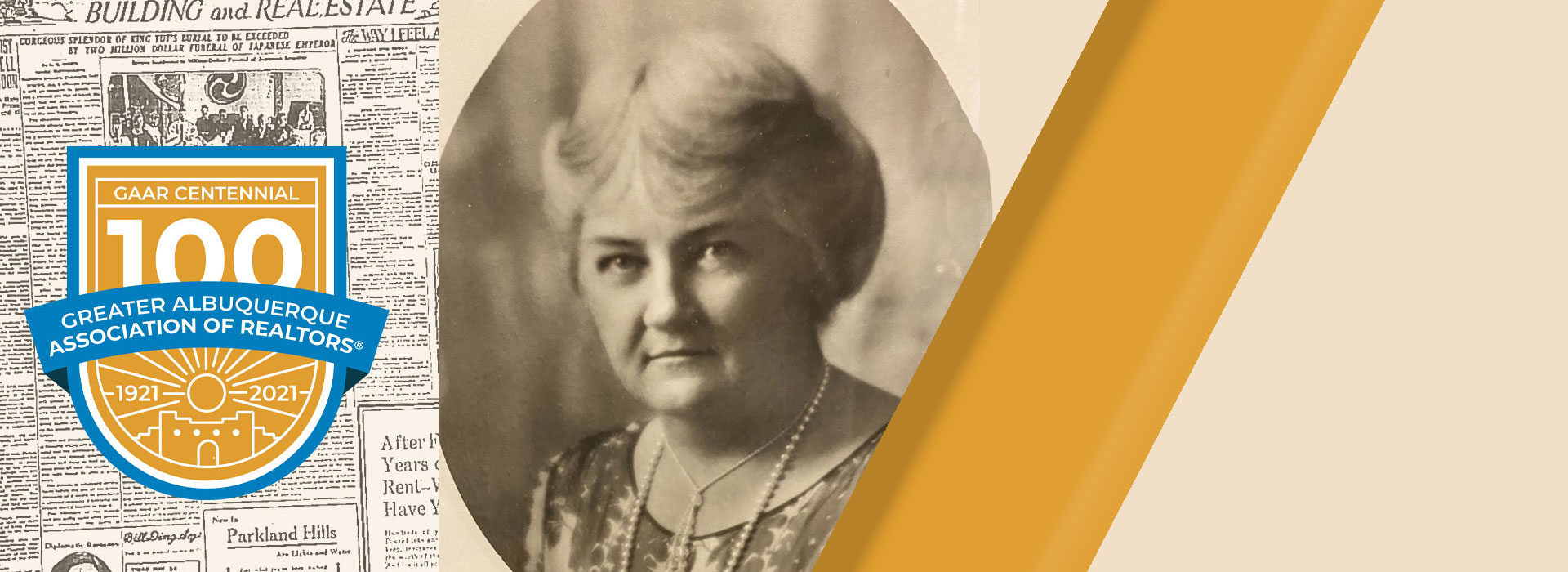 Centennial History: Margaret Medler, 1932 GAAR President